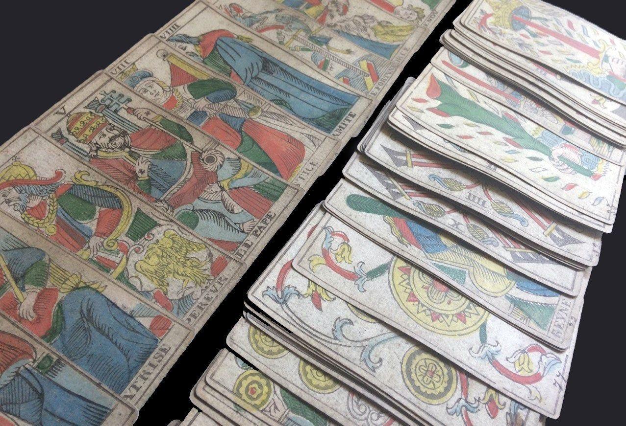 the marseille arcana tarot cards