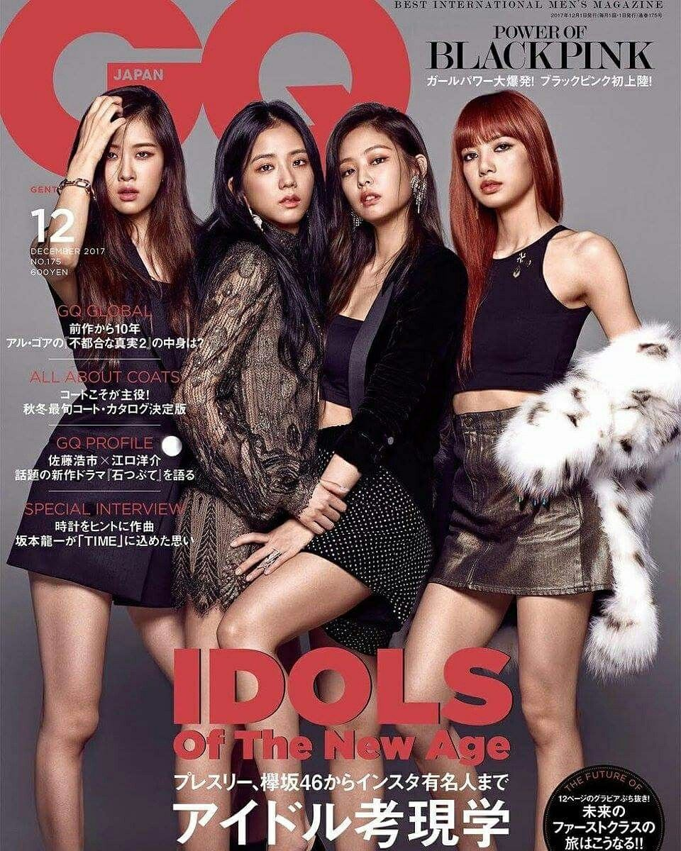 Idols Of The New Age Blackpink Fashion Black Pink Gq