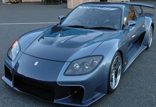 mazda rx7 fast and furious body kit. rx7 veilside mazda rx7 fast and furious body kit h