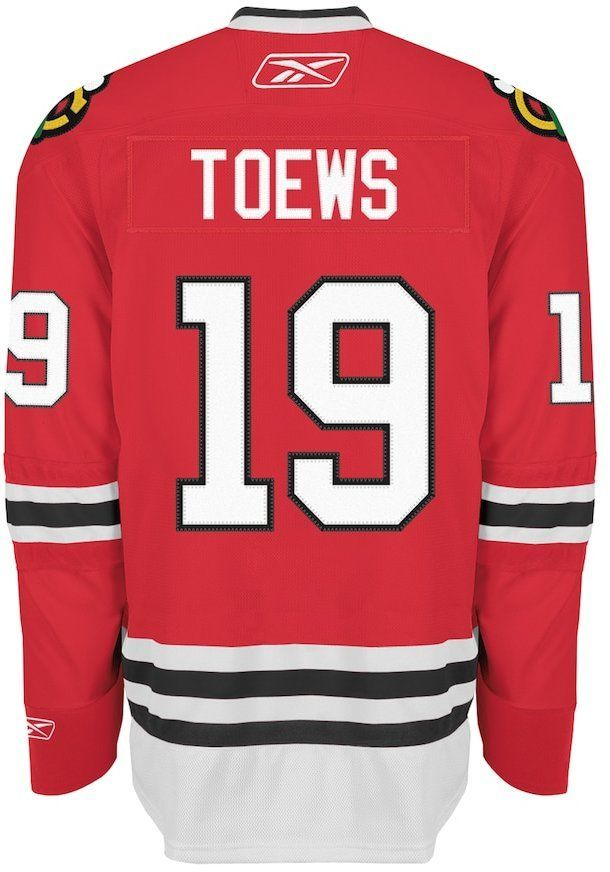 f69f18b2085 Reebok® EDGE Premier Chicago Blackhawks Jonathan Toews Jersey ...