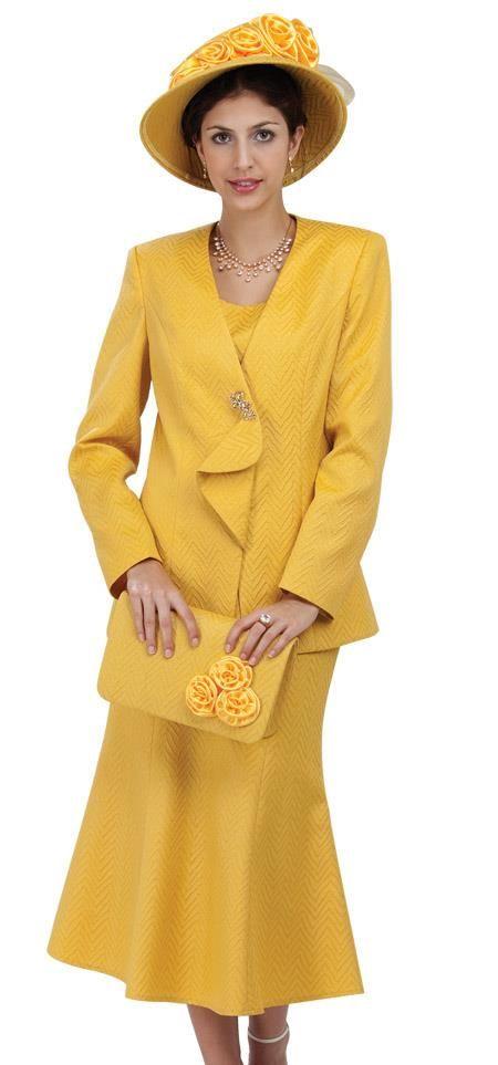 Id Wo 207 Womens 3 Piece Dress Combo Yellow Mensitaly Womens