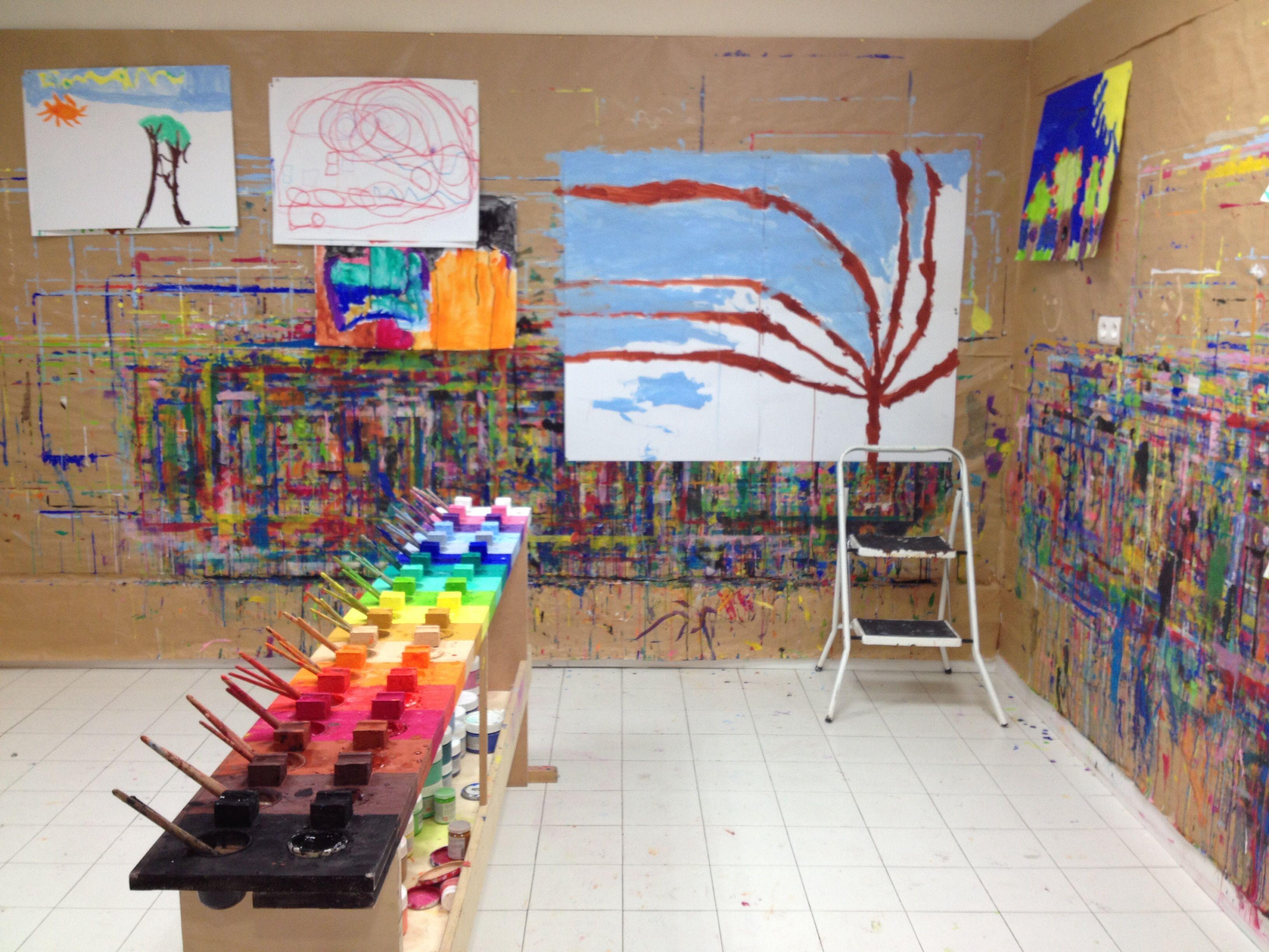 table palette et expression libre par la peinture ateliers enfants ados adultes chez kid sens. Black Bedroom Furniture Sets. Home Design Ideas