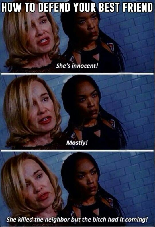 How To Defend Your Best Friend Lol American Horror American