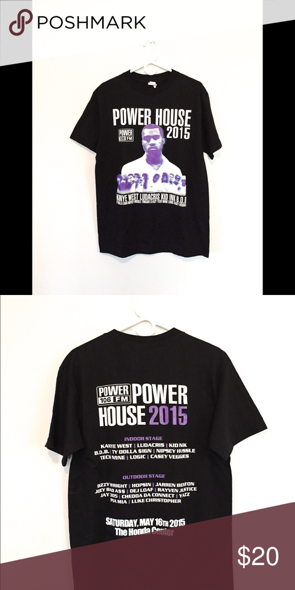 1f54d942e Power house concert shirt 2015 This shirt is in good condition Shirts Tees  - Short Sleeve