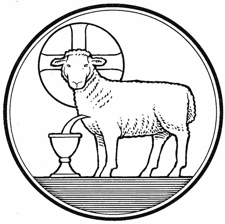 Gallery For Lamb Of God Coloring Pages
