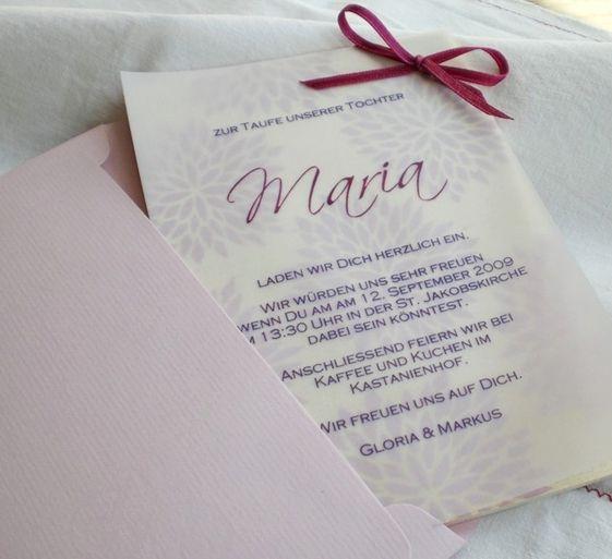 Die Taufe ist ein wichtiges Fest in Ihrem Leben und im Leben Ihres Babys. Deshalb sind Taufkarten zu empfehlen. Wir http://www.printhai.de/de/produkte/karten/taufkarten bieten Ihnen ganz persönliche Taufkarten und Einladungskarten. Sie können auch passende Menükarten und Tischkarten bestellen.