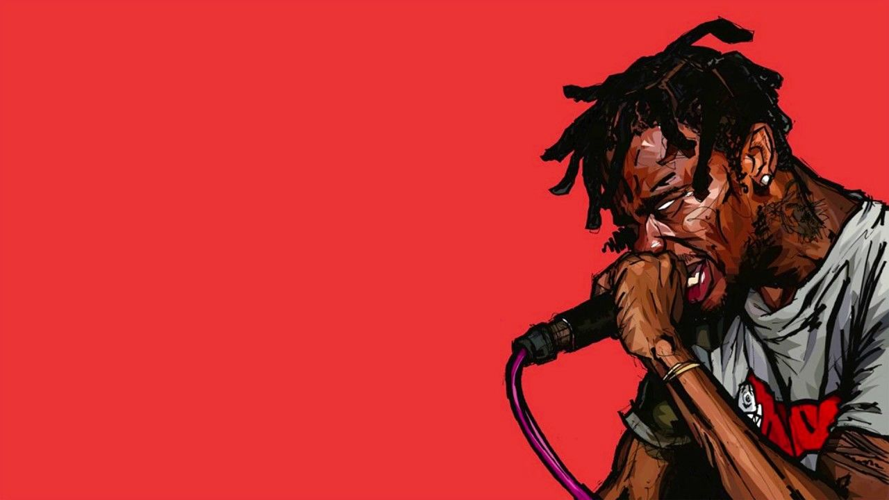 Free Travis Scott Type Beat Instrumental 2017 Travis Scott Wallpapers Pc Cartoon Desktop Type 1080p Ka In 2020 Travis Scott Wallpapers Travis Scott 4k Background