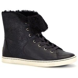8dfc5100f1b Ugg Australia Croft Sheepskin High-Top Sneakers | Shoes | Uggs ...