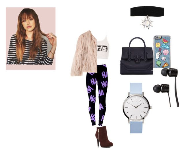 """""""Untitled #56"""" by pas1999 ❤ liked on Polyvore featuring Alexander Wang, Versace and Vans"""