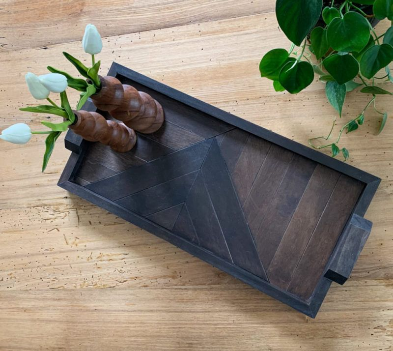 DIY Small Kitchen Decorating & Design Ideas Serving tray