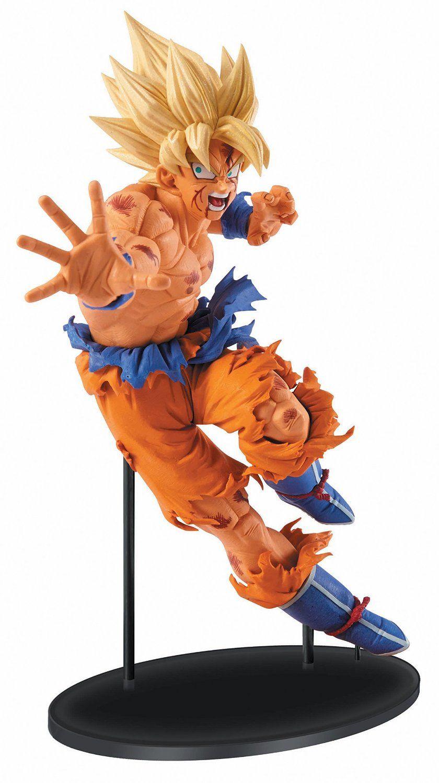 figura de juguete de goku dragon ball z pinterest