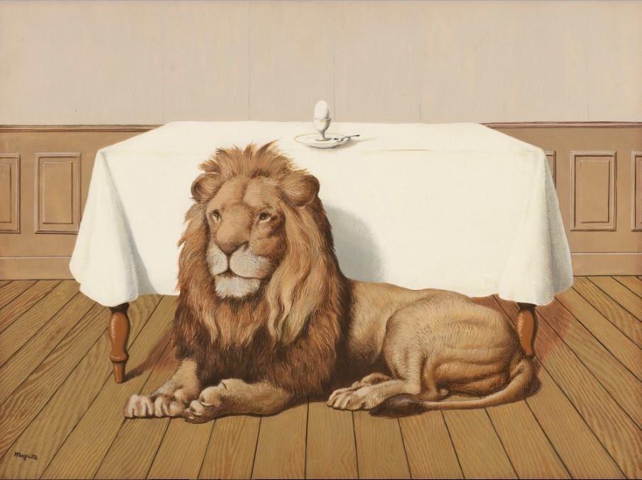 René Magritte - Le repas des noces, 1940.