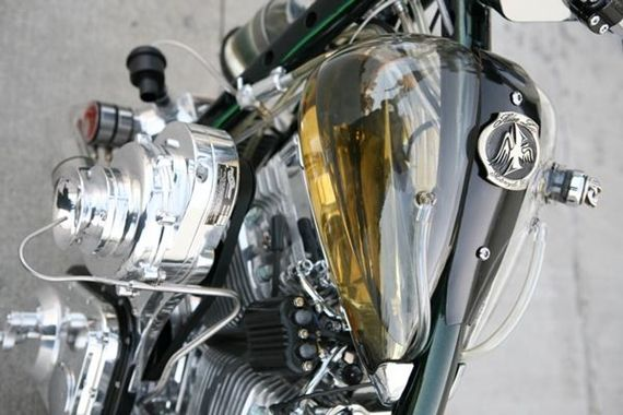 The Impressive Glass Transparent Gas Tank Was Made By Alan Lee A