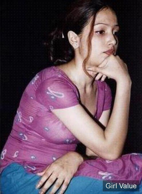 indian girl in light pink shalwar kameez