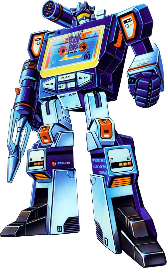 Transformers Generation 1 Cartoon Characters : Soundwave g transformers decepticons