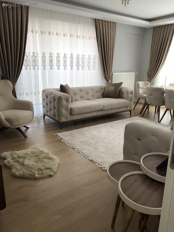 Krem renge sıcaklık katan sütlü kahve. Fatma hanımın abartısız, keyifli evi.. | Ev Gezmesi #home