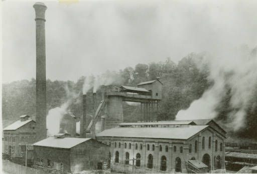 Bellfonte Iron Works or Nittany Furnace :: American Iron and Steel Institute photographs