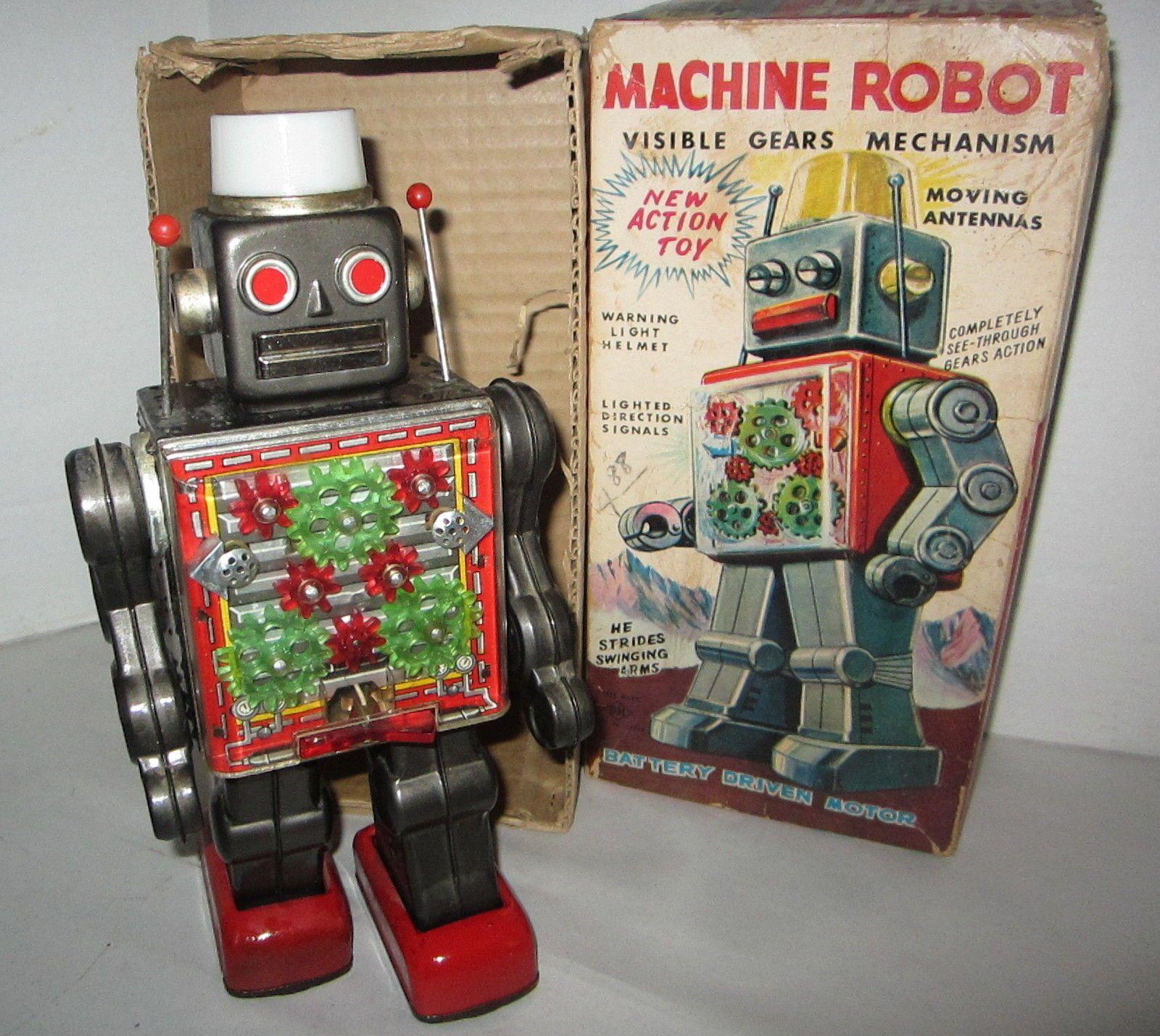 Horikawa Machine Robot 60s/ebay