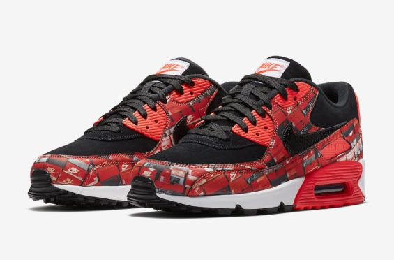 Release Date: atmos x Nike Air Max 90 We Love Nike | Air max 90, Air max  and Printing