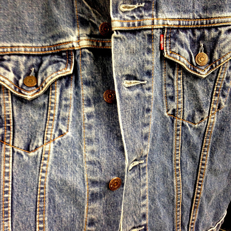 Levis Jeansjacke ab 19,90€  #Levis #Vintage #Denim