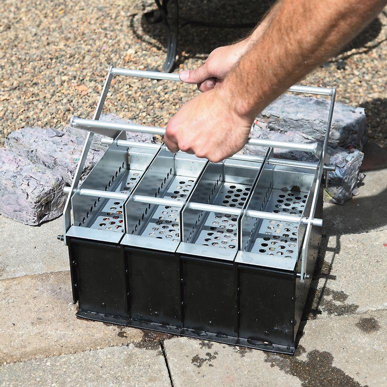 4 In 1 Paper Log Maker Bricks Diy Survival Homestead Survival