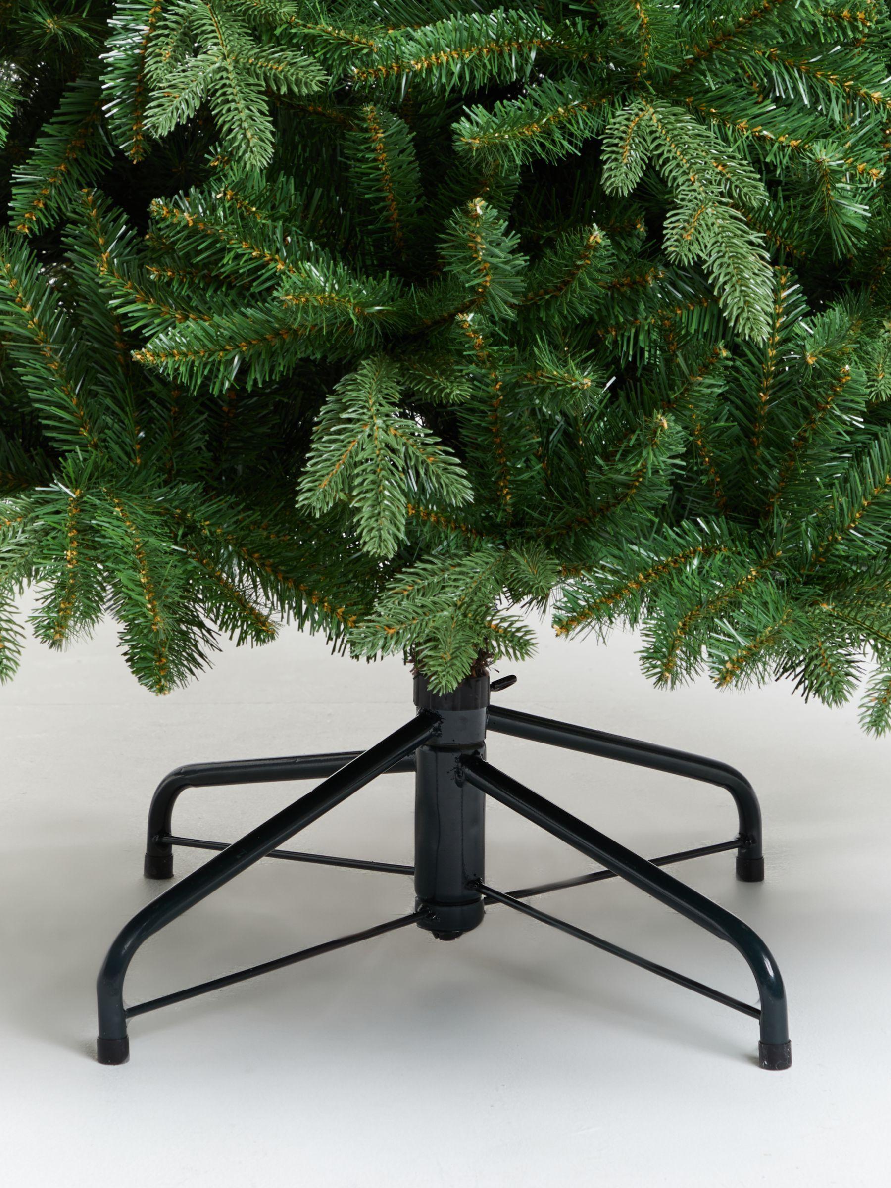John Lewis Partners Serbian Green Spruce Unlit Christmas Tree 7ft Unlit Christmas Trees Spruce Christmas Tree Pre Lit Christmas Tree