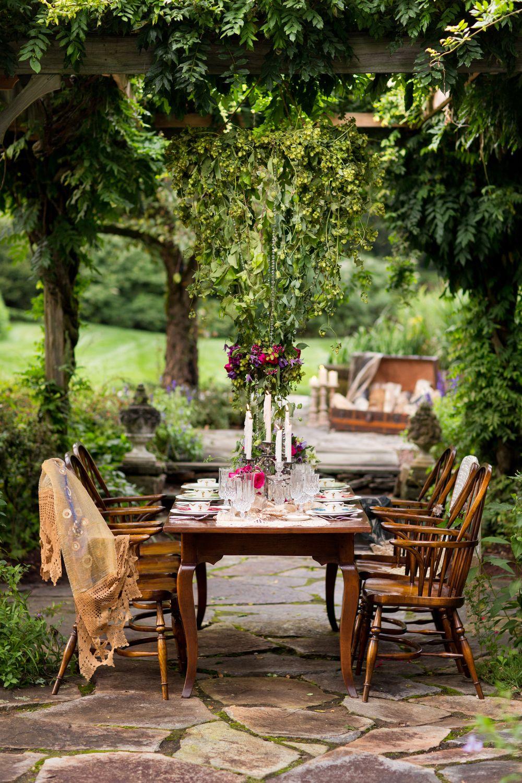 Vintage Garden Wedding Inspiration Mill House Antiques