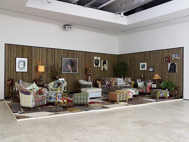 MICKALENE THOMAS How To Organize A Room Around Striking Piece Of Art Installation View