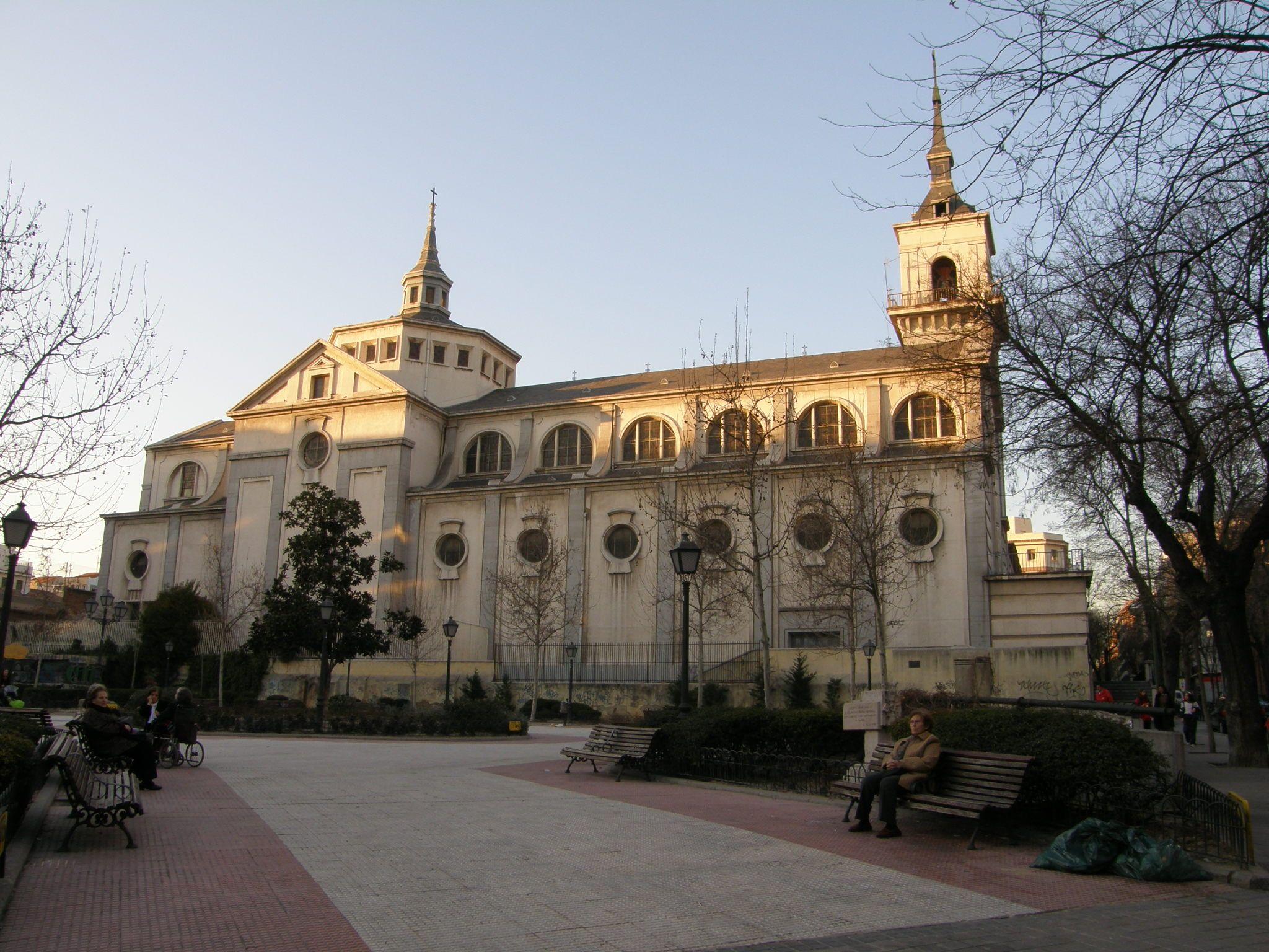 Iglesia Del Stmo Cristo De La Victoria Madrid Ciudad Ciudades Iglesia