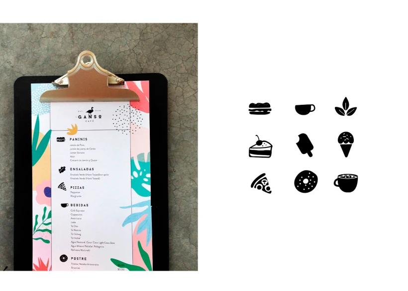 Ganso Cafe Domestika Branding Diseno De Identidad Ganso