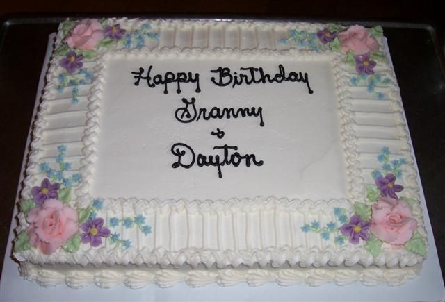 Sheet Cake Designs For Retirement : Birthday cake ideas Pinterest Cake pictures, Sheet ...