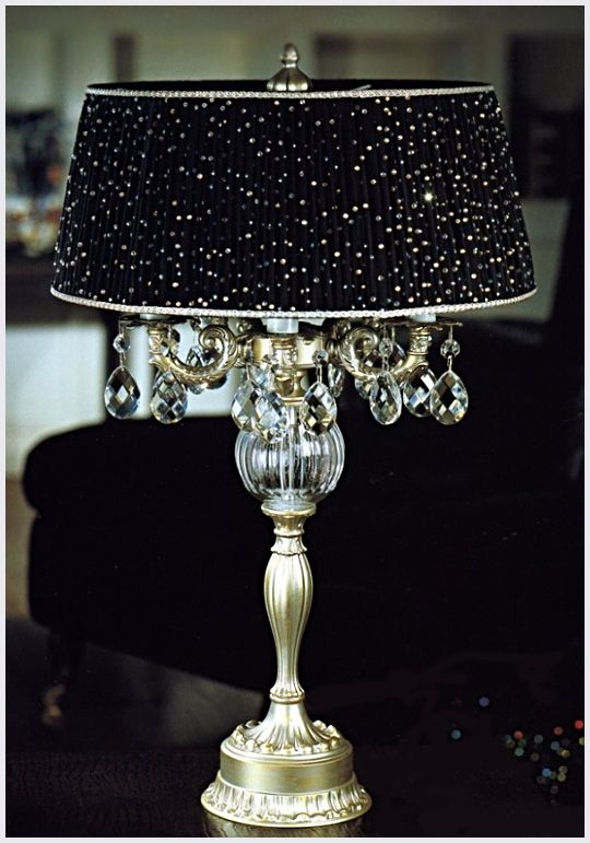 Bling Bedside lamp | For the Home | Pinterest | Lights ...
