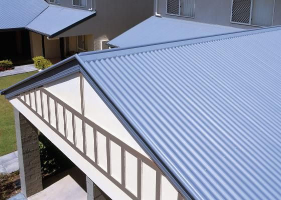 Stratco Roofing Barge Capping Corrugated Roof Tiny