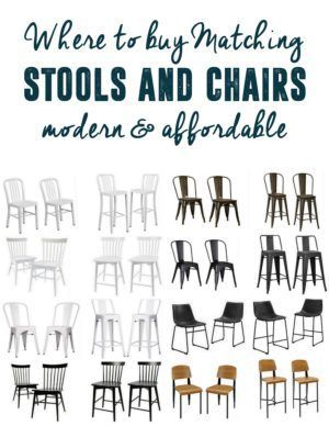 Fine Modern Coordinating Stools And Chairs Diy Home Decorating Spiritservingveterans Wood Chair Design Ideas Spiritservingveteransorg