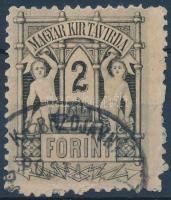 1873 Kőnyomat 2Ft (6.000)