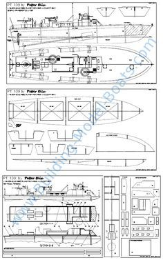 looking for a giant pt boat plan? here is a simplified elco big enough for  good-size gas engines