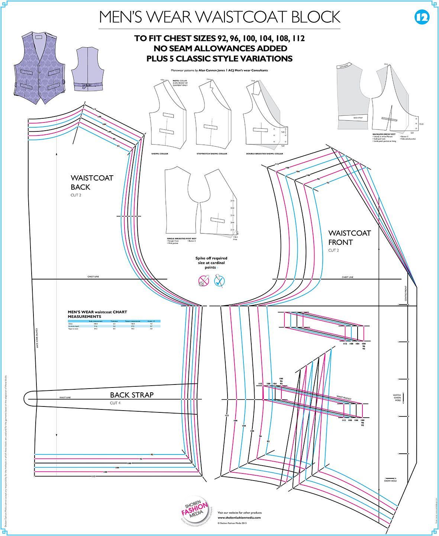 Waistcoat Pattern : waistcoat, pattern, Waistcoat, Patterns, Google, Search, Men's, Waistcoat,