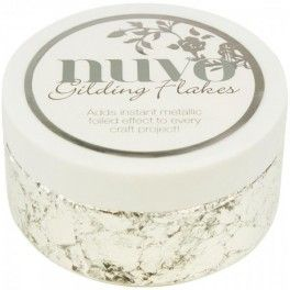 Nuvo Gilding Flakes - Silver Bullion 6.8oz - Rs. 560