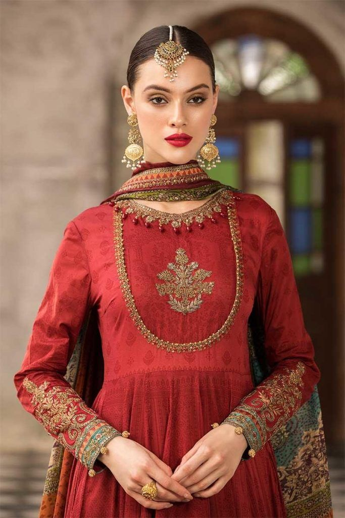 Best Latest Maria B Eid Lawn Dresses Designs Collection 2019 400 x 300
