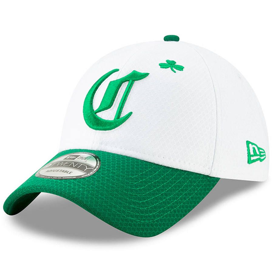 f1c003ac0ba350 Men's Cincinnati Reds New Era White/Kelly Green 2019 St. Patrick's Day  9TWENTY Adjustable Hat, $29.99
