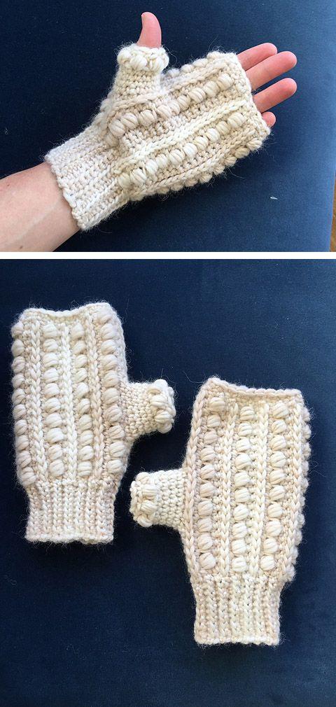 Malia Wrist Warmers Free Crochet Pattern Crochet Handmade