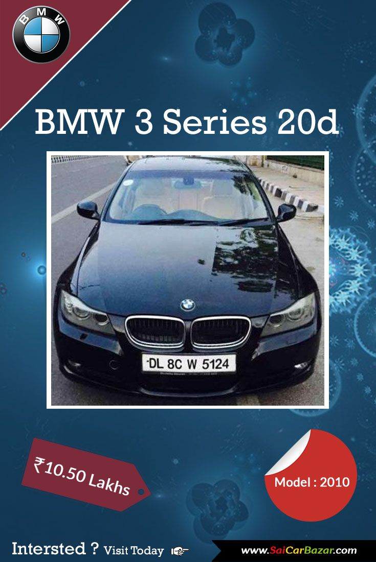Drive With Comfort On Wheels Take Home Well Conditioned Bmw 3 Series 20d Model 2013 In Black Color You Are Just One Click Away With Images Bmw 3 Series Used Cars Bmw