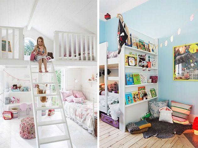Kreative løsninger for barnerommet
