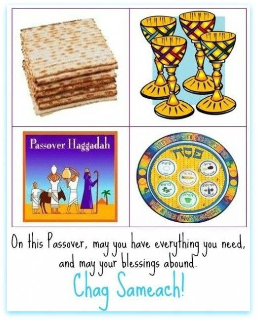 Happy passover find a cool passover greeting pinterest passover greeting with matzah four cups of wine haggadah and seder plate m4hsunfo