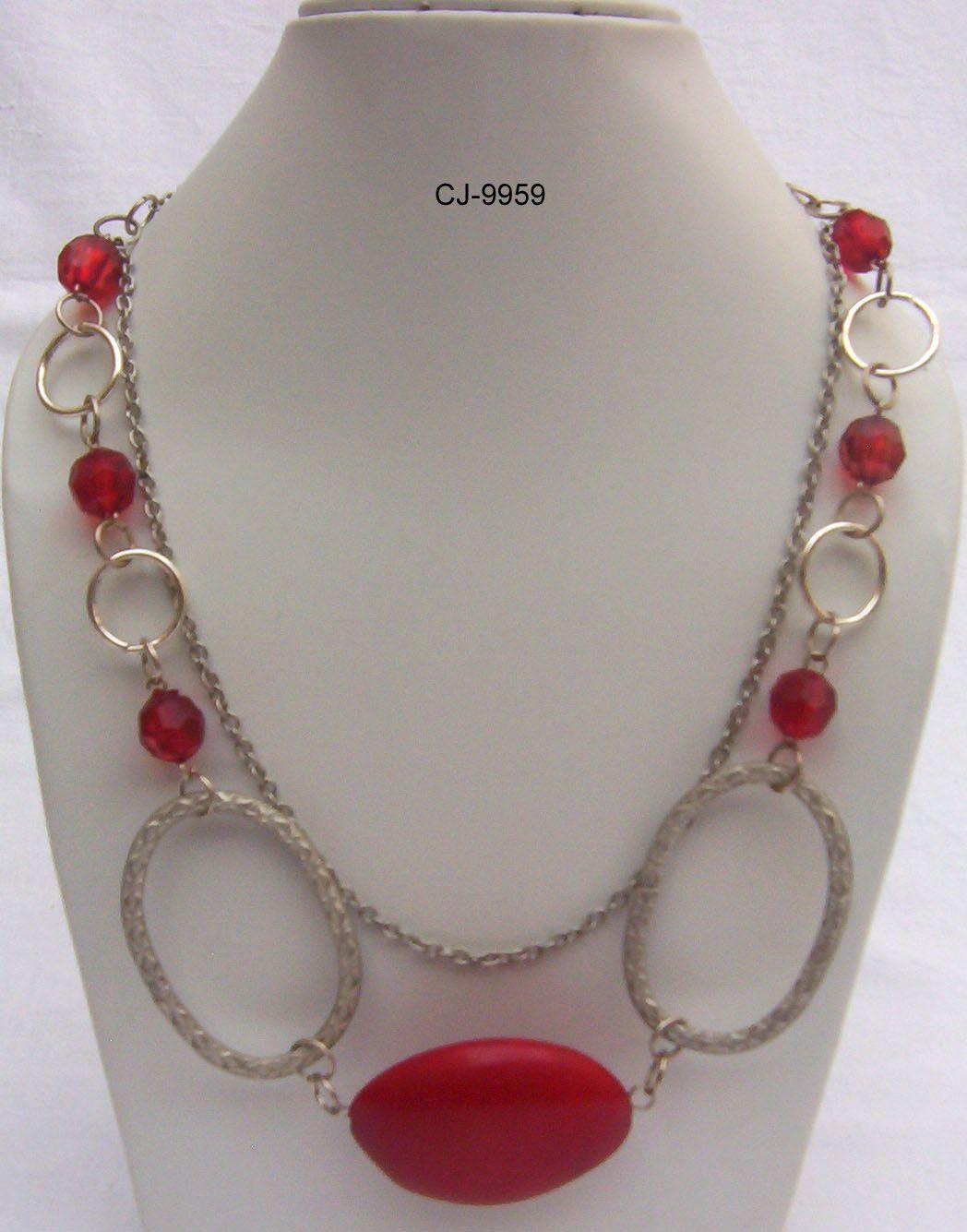 Metal & Acrylic Necklaces