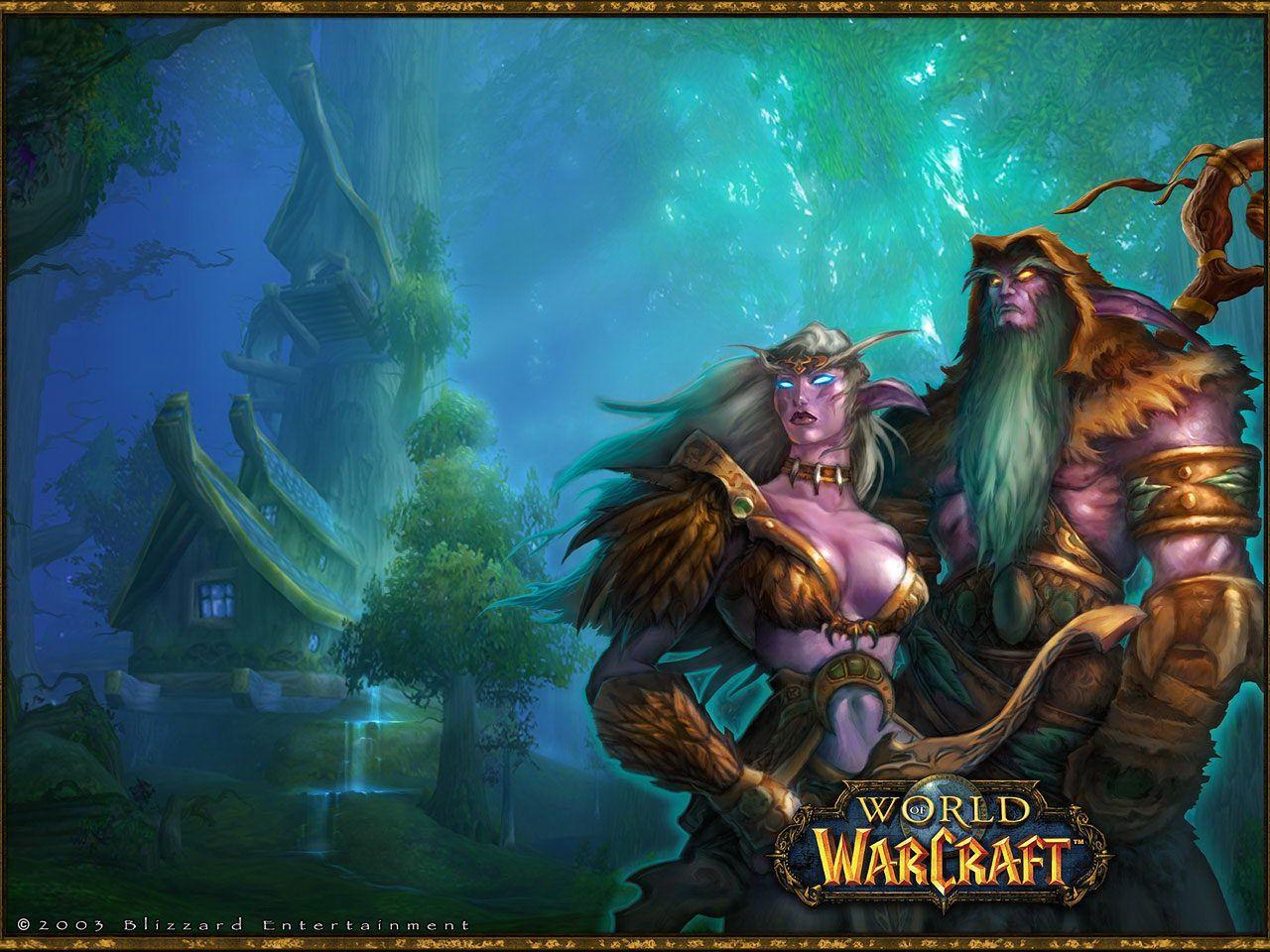Wood Elf Skin Tone Hair World Of Warcraft Wallpaper World Of