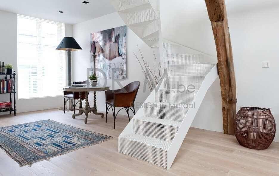 Moderne trap huis trapkes