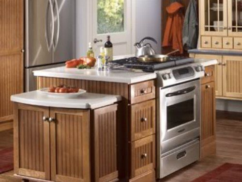 small kitchen island with stove cool kitchen ideas stove in breakfast bar projects to 8076