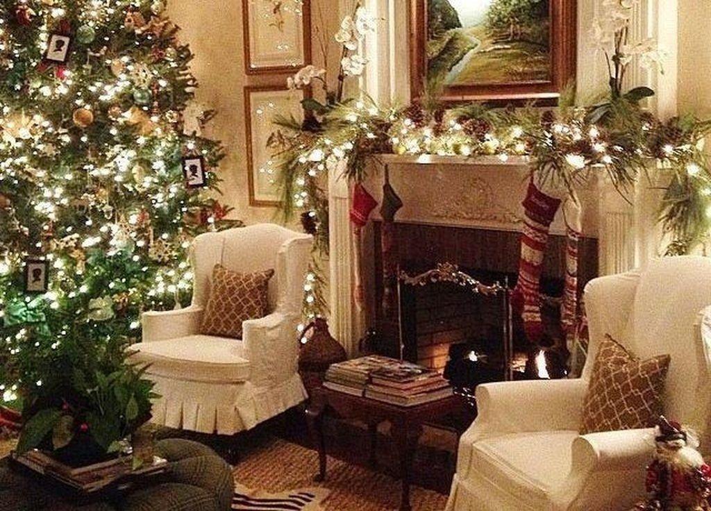 Cozy Christmas Living Room Decor Ideas 15 Abitazioni Di Campagna Inglesi Living room christmas decor ideas