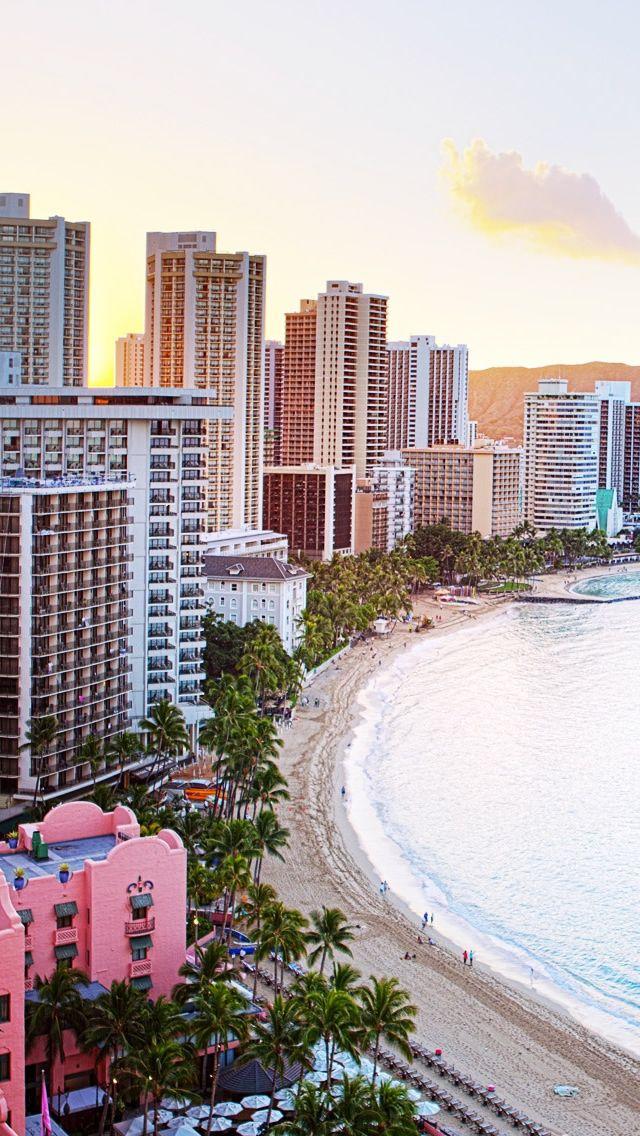 Waikiki Beach Hawaii Aloha beaches wallpaper, Beach
